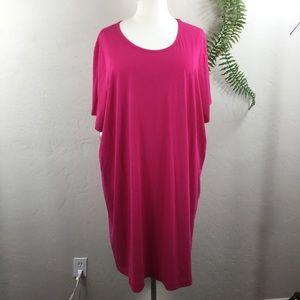 Catherines Sleepwear Short Sleeve Sleepshirt Dress
